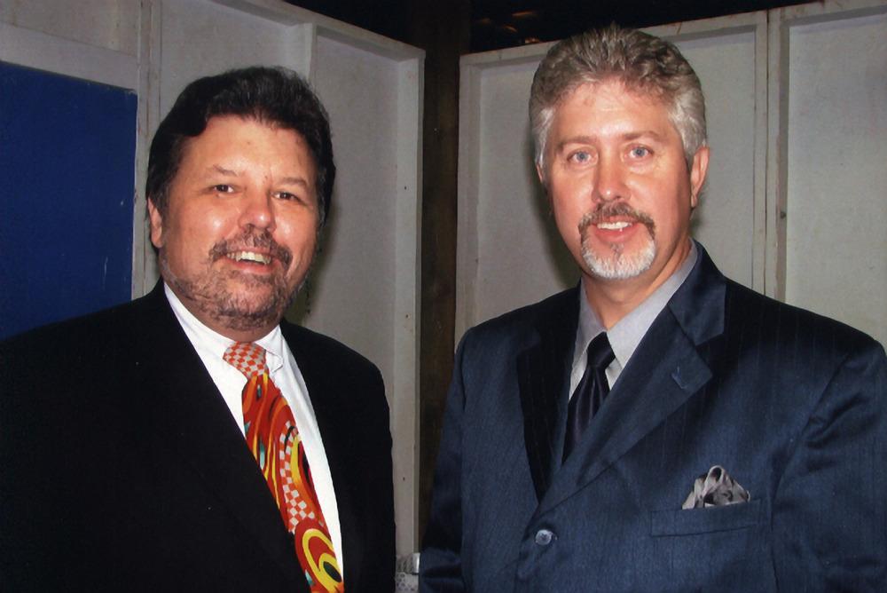 2007 - Dana Cupp & Daryl Mosley of Bobby Osborne's Rocky Top X-Press
