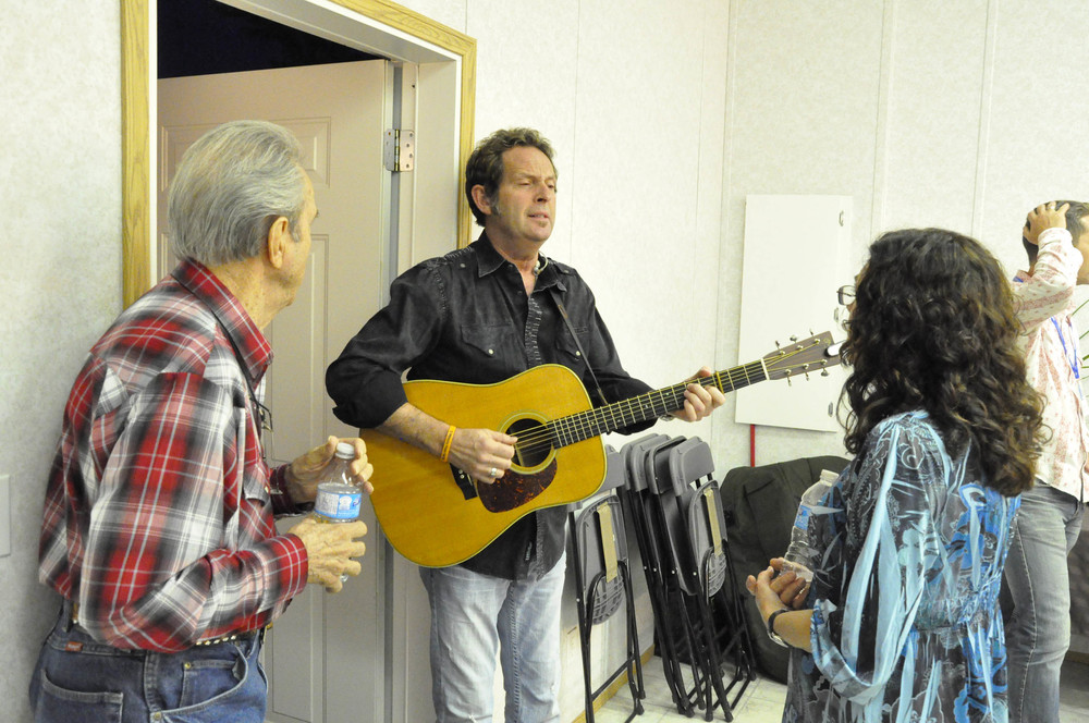 Buck White, Paul Brewster & Sharon White