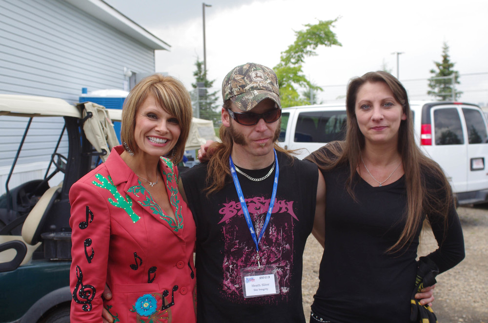 Lisa Hewitt, Heath Sliter & Cindy Lennon