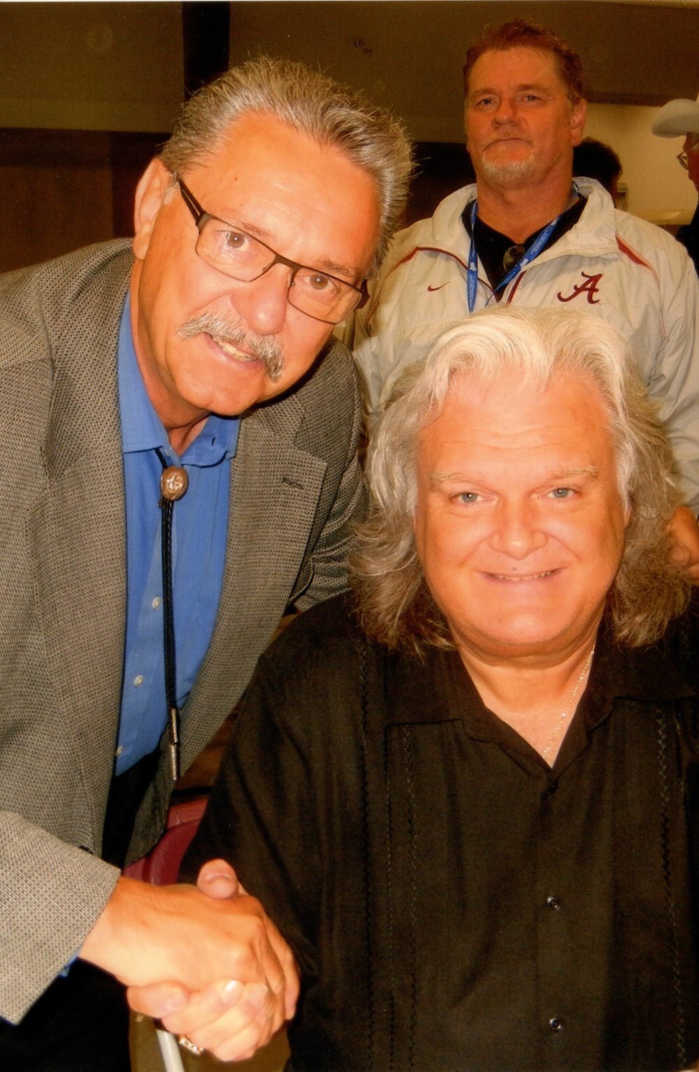 MLA & Speaker Gene Zwosdesky with Ricky Skaggs