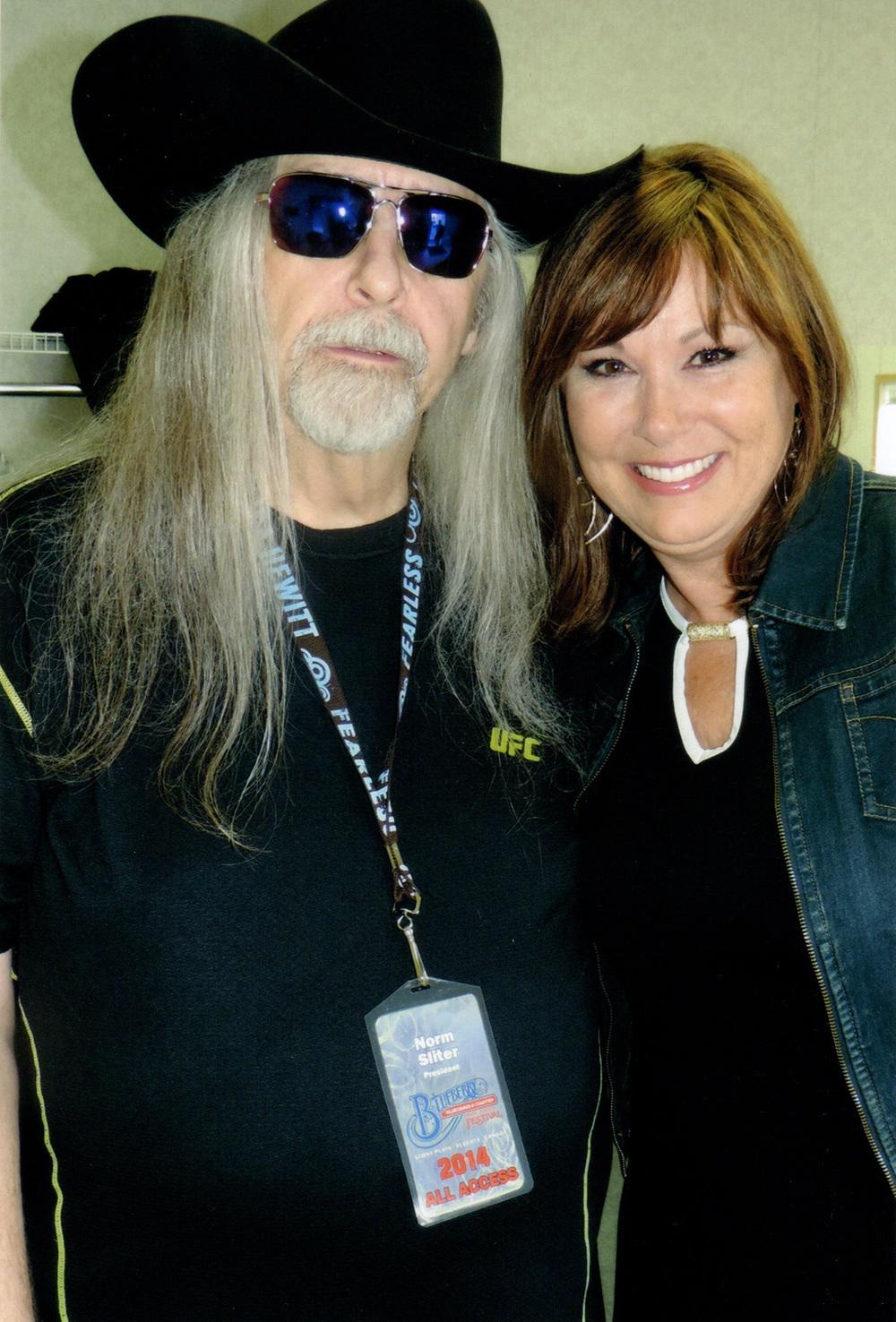 Norm Sliter (Blueberry President) & Suzy Bogguss