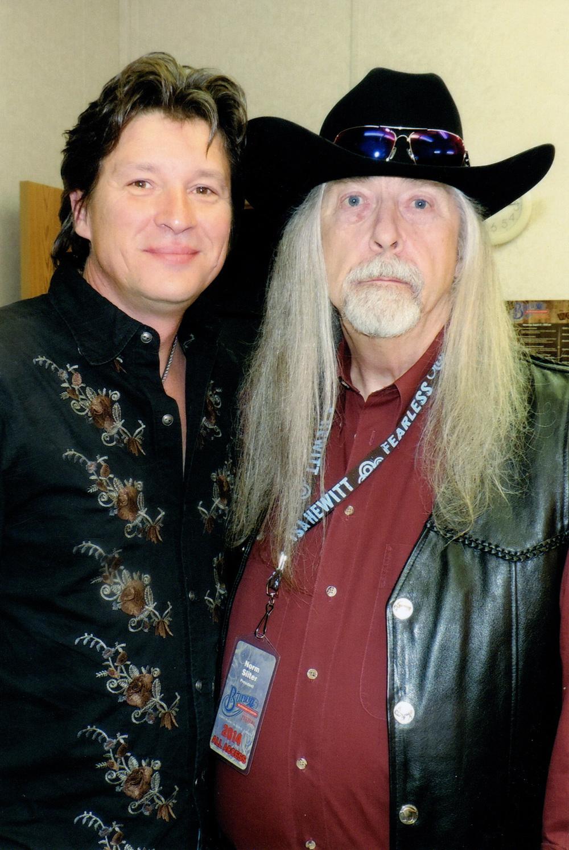 Ronnie Bowman & Norm Sliter (Blueberry President)