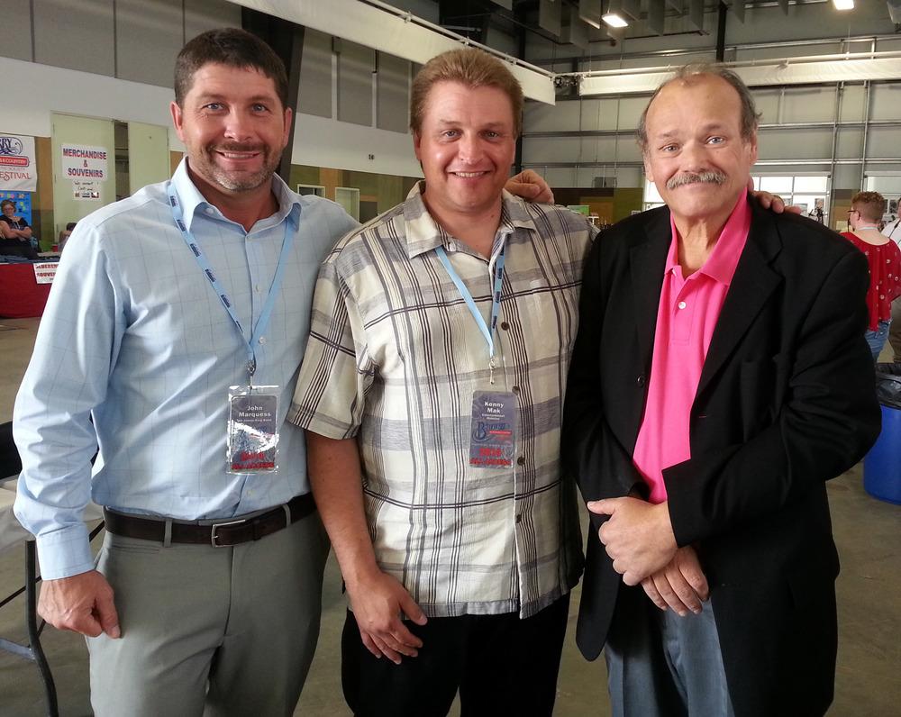 John Marquess, Kenny Mak (Blueberry Entertainment Director) & James King