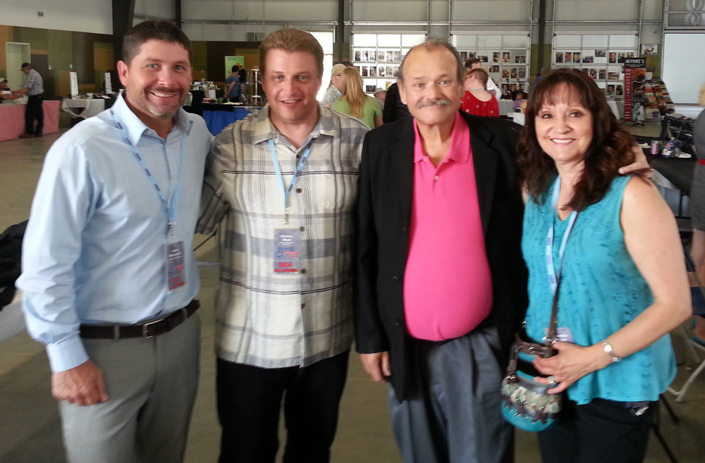 John Marquess, Kenny Mak (Blueberry Entertainment Director), James King & Jeannette Sinclair