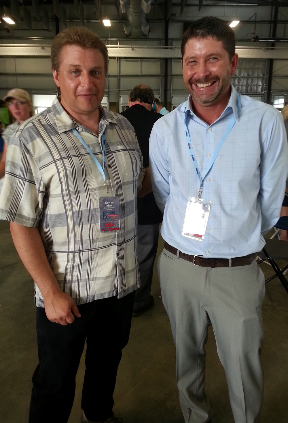 Kenny Mak (Blueberry Entertainment Director) & John Marquess