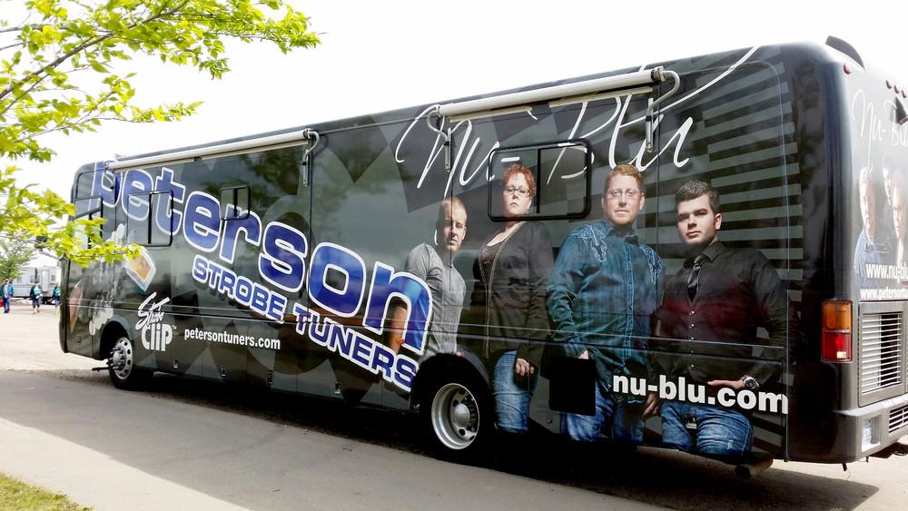 Nu Blu's Bus