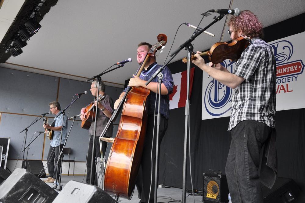 The Steve Fisher Bluegrass Band