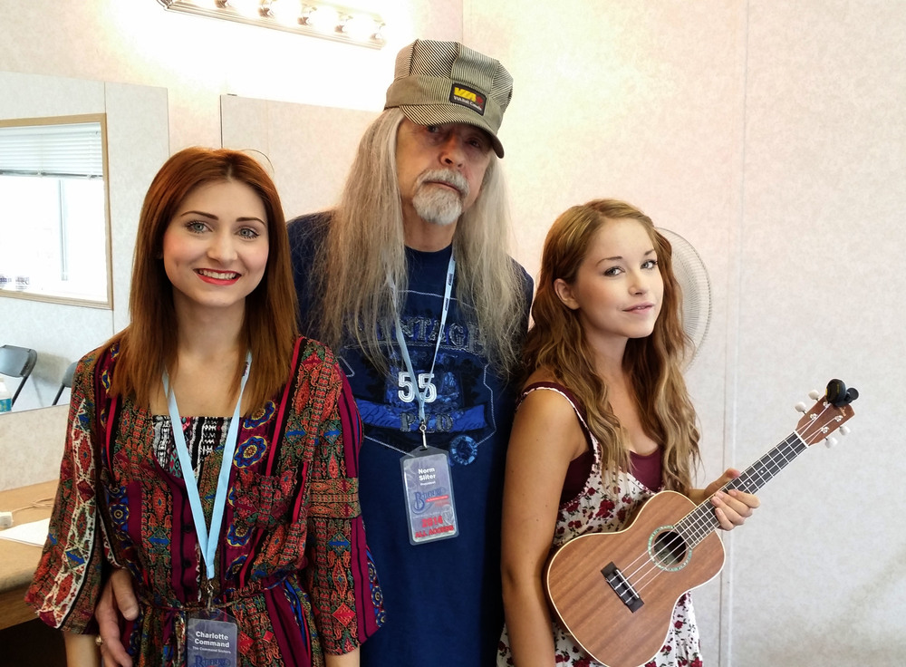 The Command Sisters with Blueberry President Norm Sliter