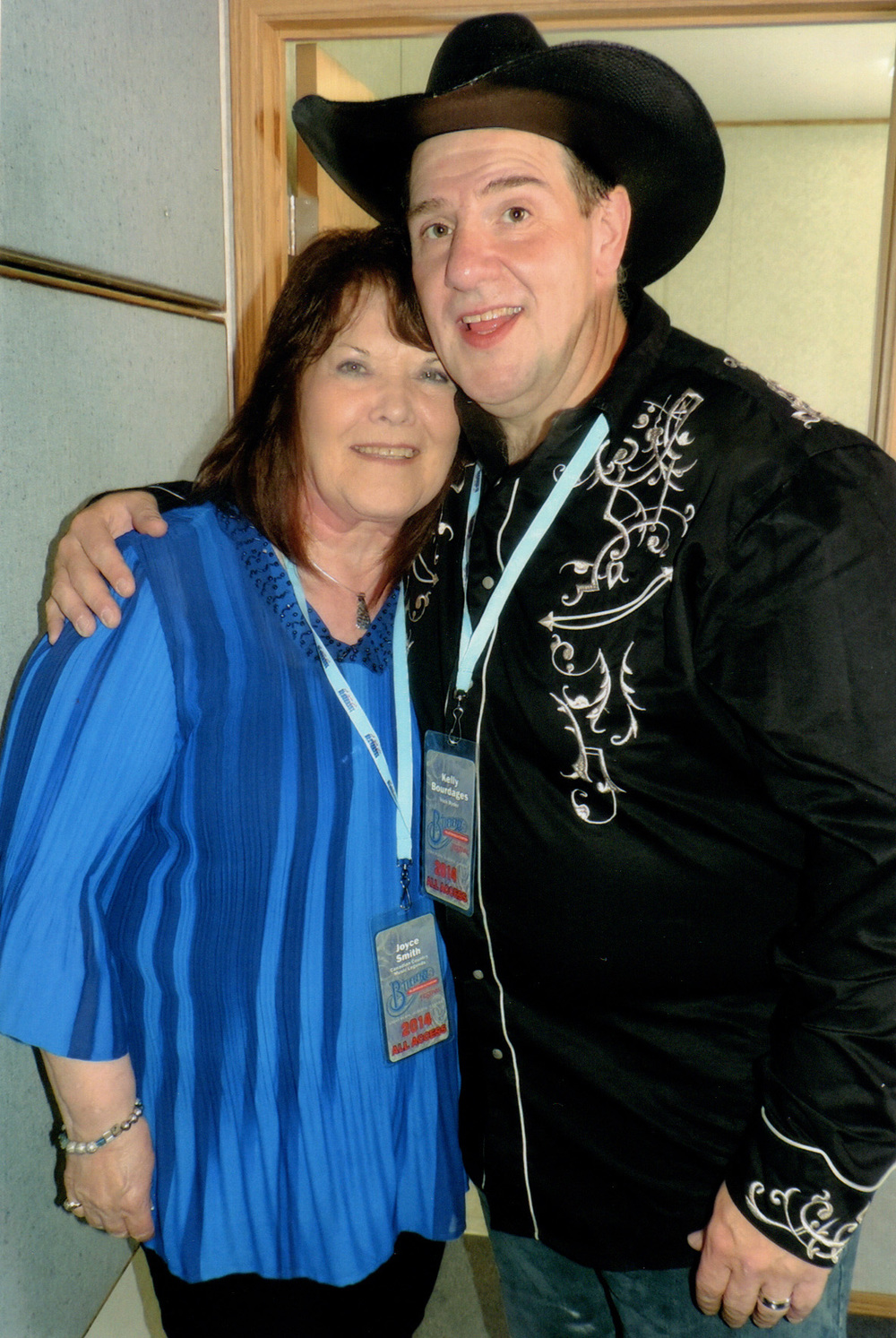 Joyce Smith of the Canadian Country Music Legends and Kelly Bourdages of Trick Ryder