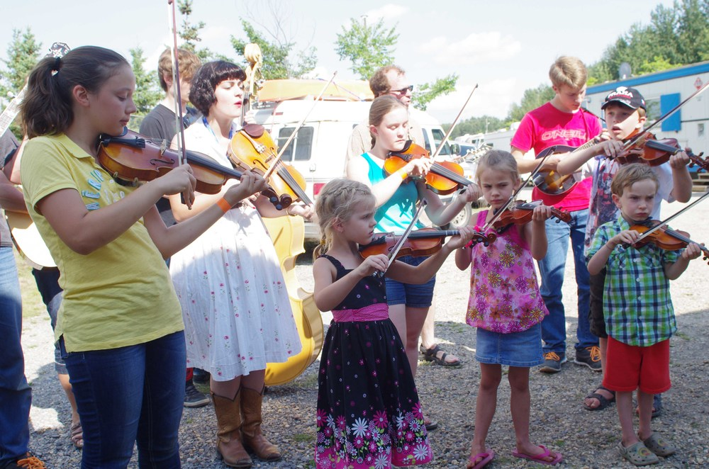 Bluegrass Boot Camp Youth Workshop