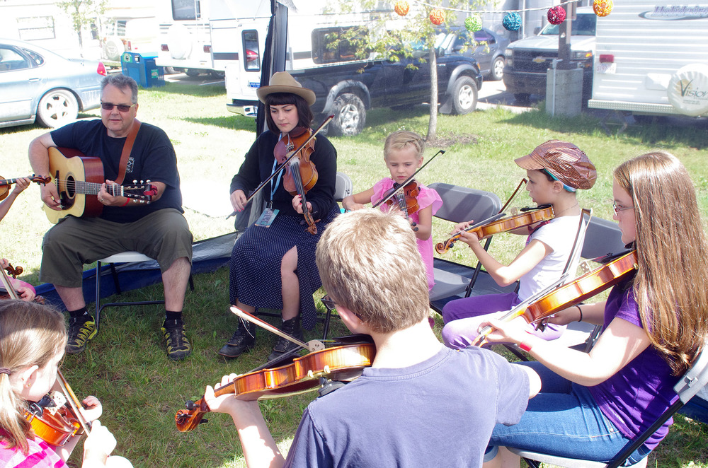 Youth Bluegrass Bootcamp Workshop