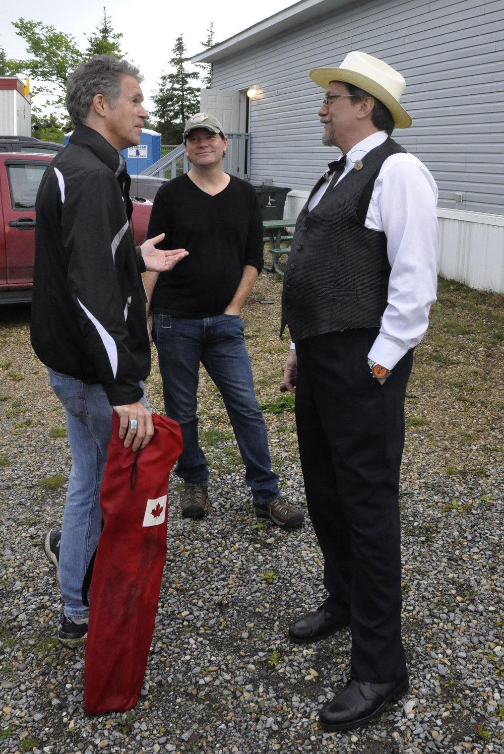 Chris Jones, Zach Newton & Jerry Douglas