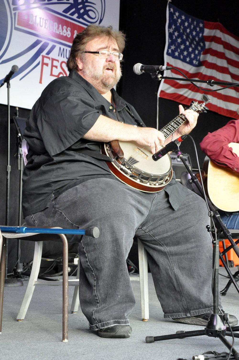 Dennis Caplinger of Bluegrass Etc.
