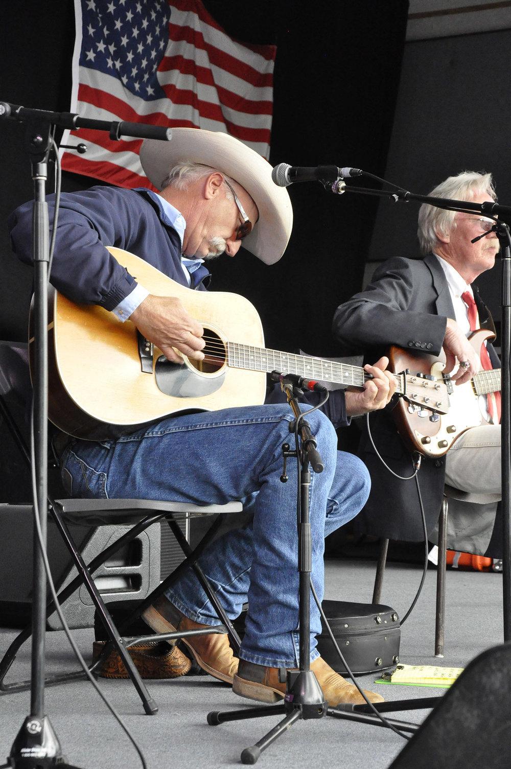 John Moore & Steve Spurgin of Bluegrass Etc.
