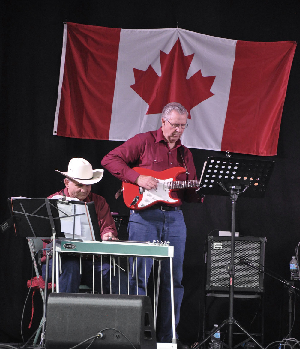 Gary Okrainec & Richard Chernesky of The Canadian Country Music Legends