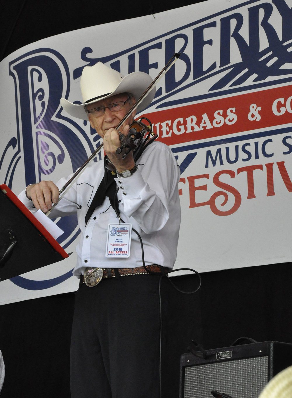 Alfie Myhre of The Canadian Country Music Legends