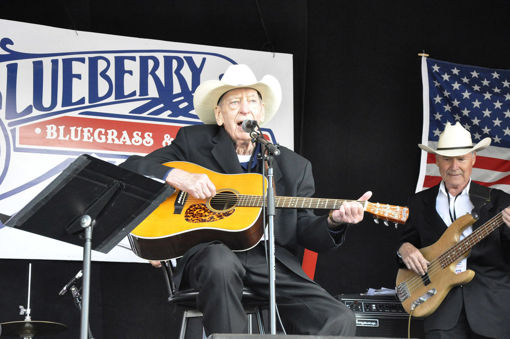 Bev Munro of The Canadian Country Music Legends