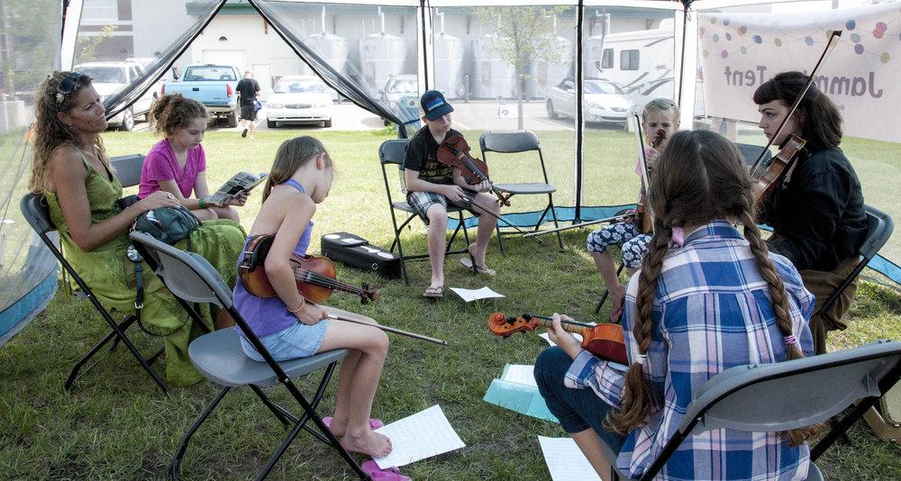 Youth Bluegrass Bootcamp Workshop