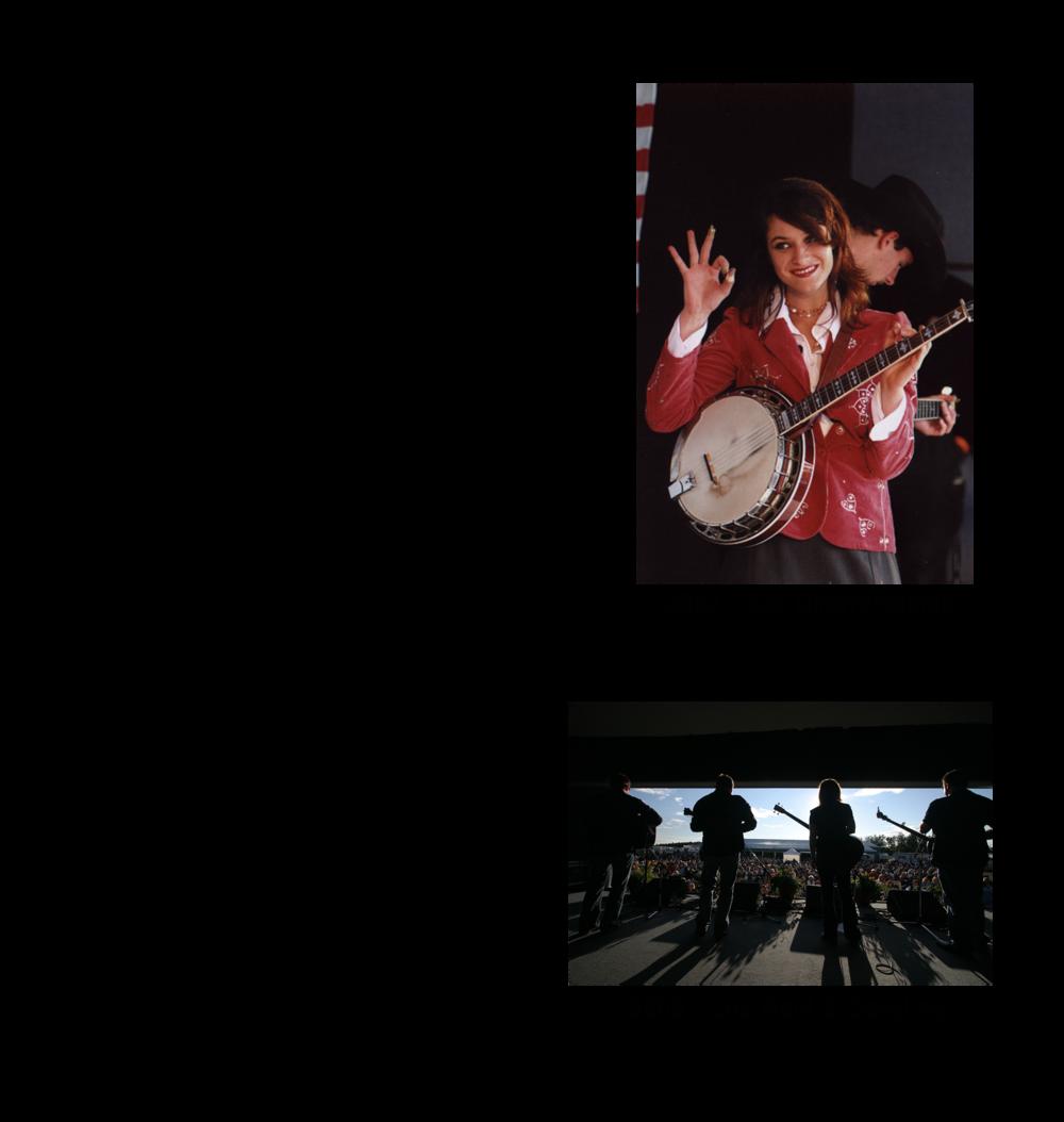 2011 & 2012 Blueberry Bluegrass Festival Lineup.png