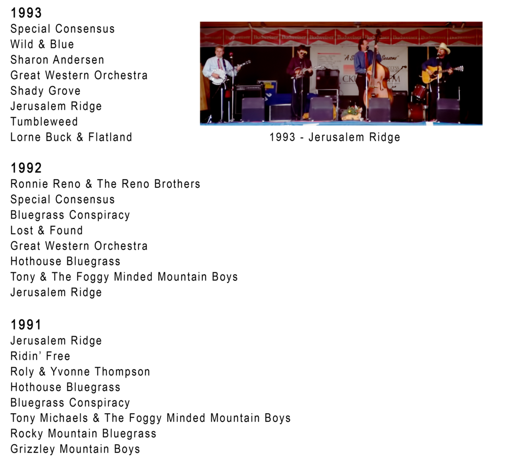 1991, 1992 & 1993 Blueberry Bluegrass Festival Lineup.png