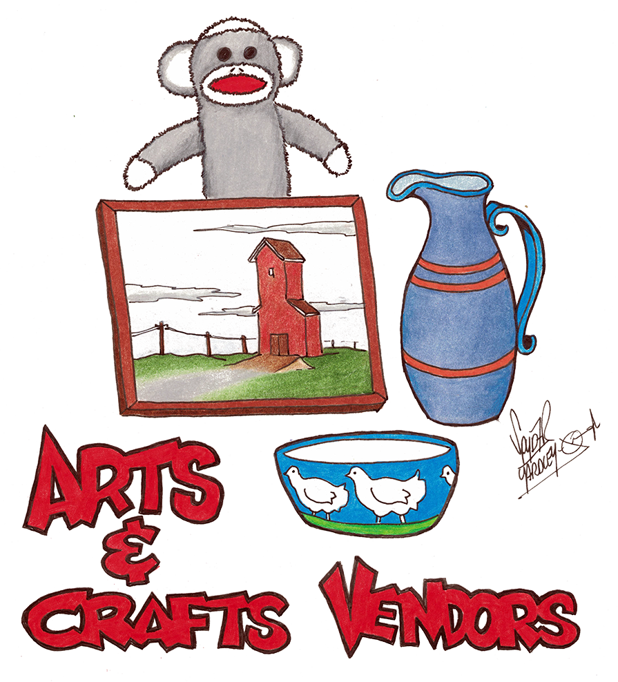 Blueberry Arts & Crafts Vendors