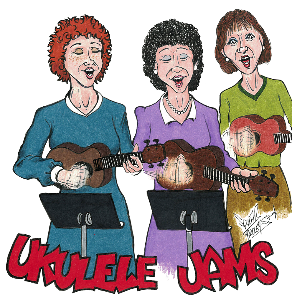 Blueberry Bluegrass Festival Ukulele Jams