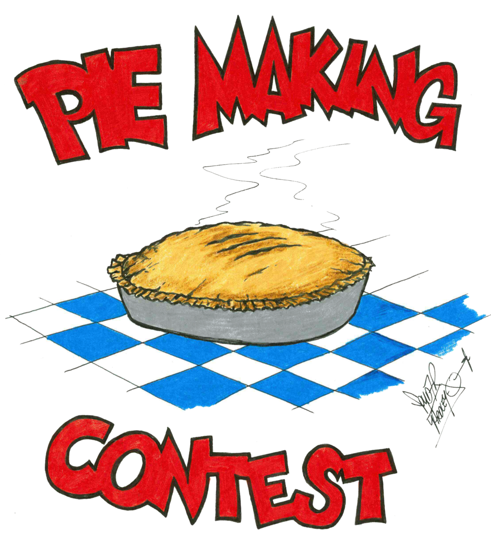 Blueberry Bluegrass Festival Pie Making Contest