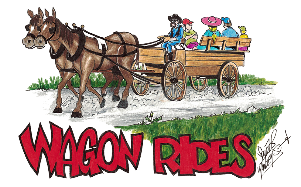 Blueberry Bluegrass Festival Wagon Rides