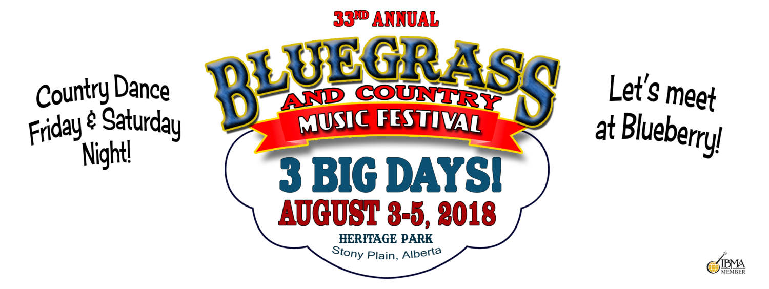 Blueberry Bluegrass & Country Music Society Festival