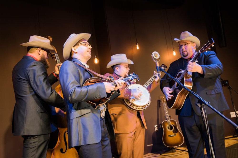 Blueberry Bluegrass Festival - Po' Ramblin' Boys