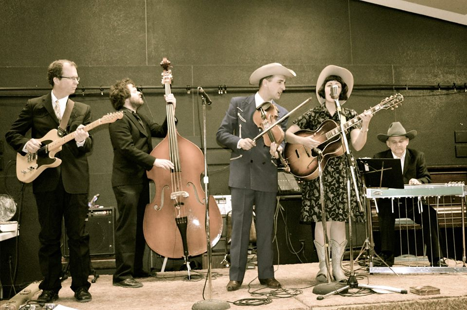 Blueberry Bluegrass Festival - Kayla Hotte and her Rodeo Pals