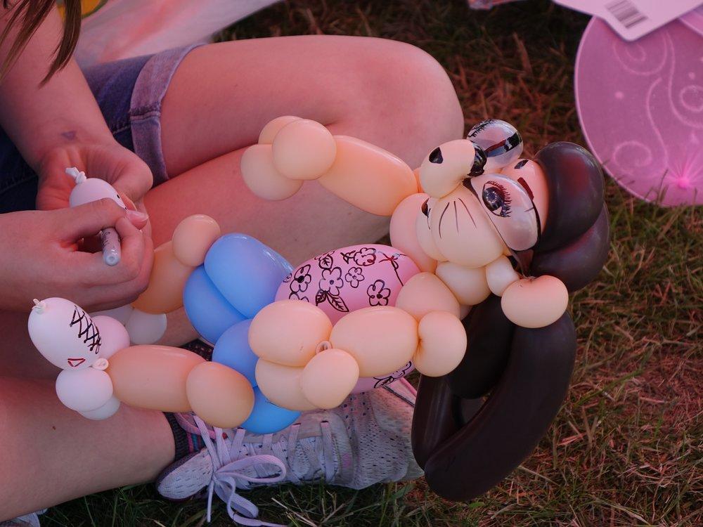 Blueberry Bluegrass Festival - Balloon Art