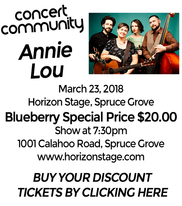 Blueberry Bluegrass Festival - Annie Lou Concert