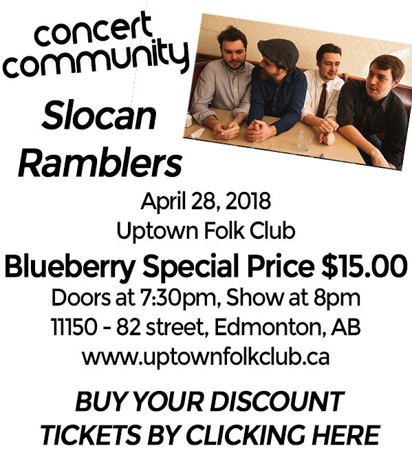 Blueberry Bluegrass Festival - Slocan Ramblers Concert