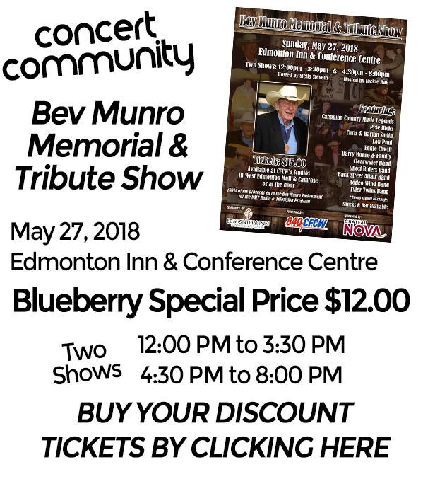 Blueberry Bluegrass Festival - Bev Munro Memorial & Tribute Show