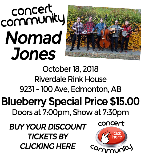 Blueberry Bluegrass Festival - Nomad Jones Concert