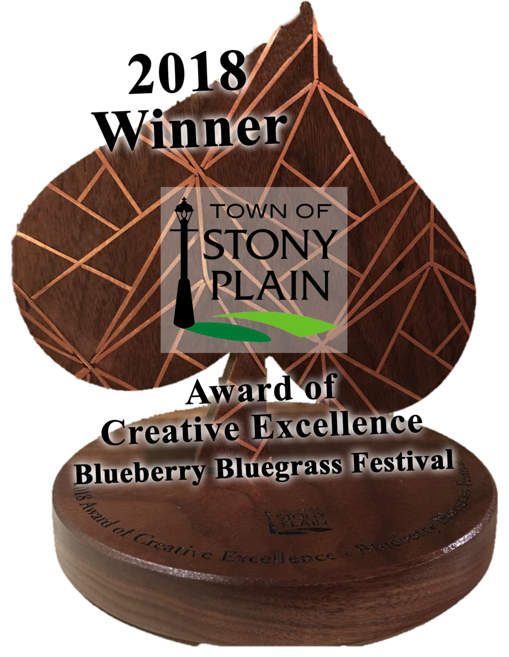 Blueberry Bluegrass Festival - 2018 Stony Plain ACE Award