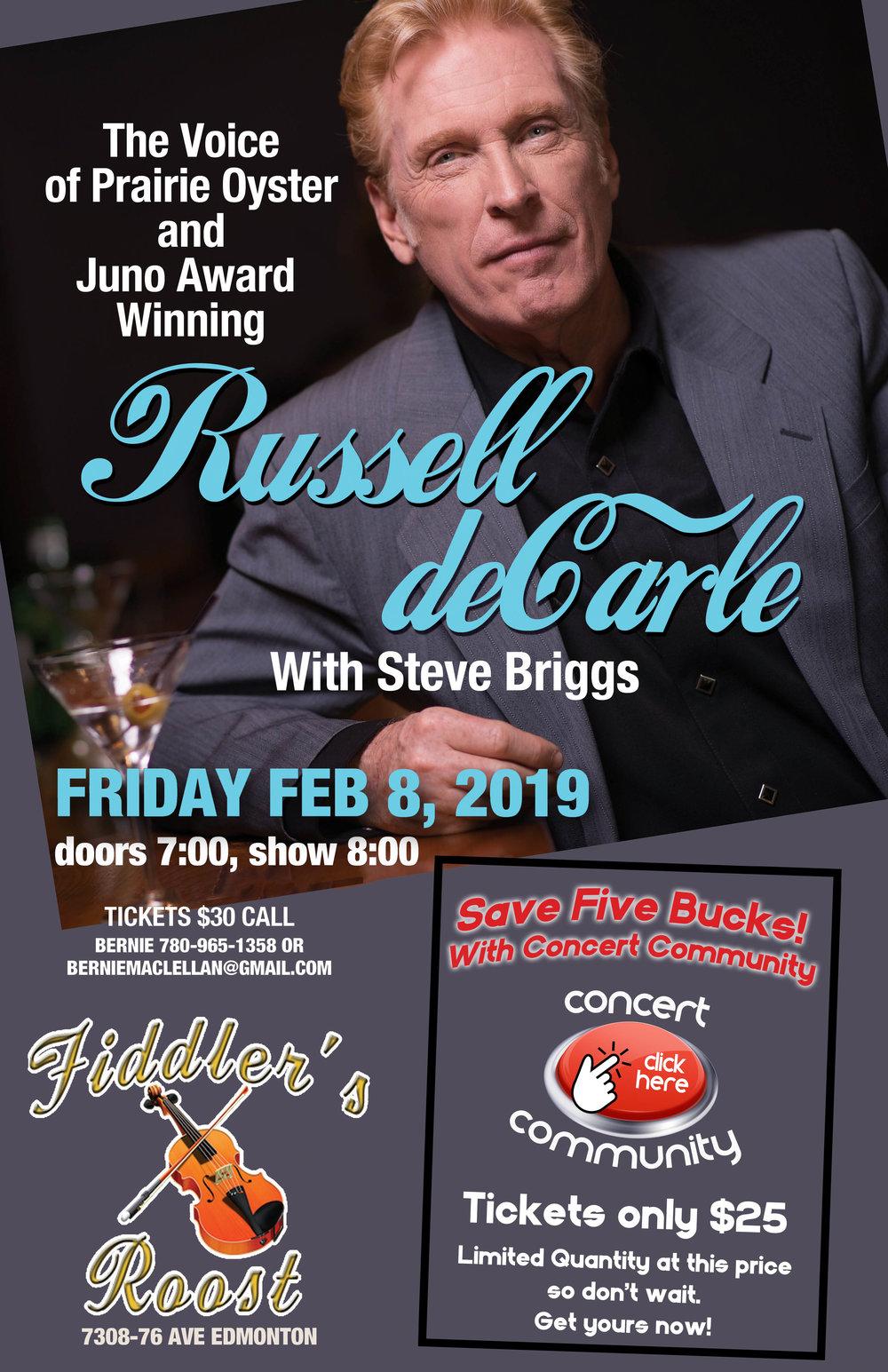 Blueberry Bluegrass Festival - Concert Community - Russell deCarle