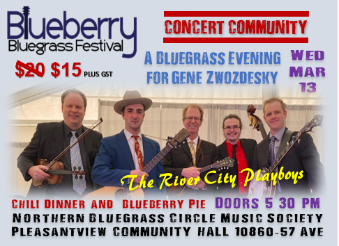 Blueberry Bluegrass Festival - River City Playboys