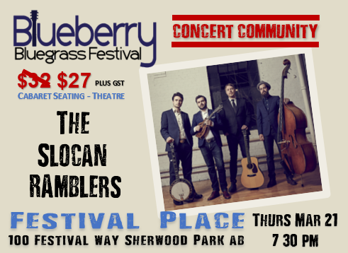 Blueberry Bluegrass Festival - Slocan Ramblers