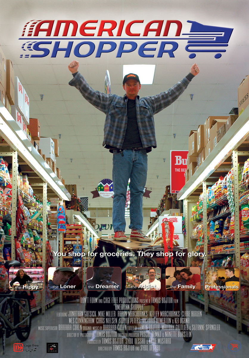 """American Shopper"" - One-Sheet"
