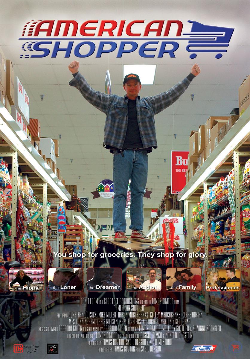 """American Shopper"" - One-Sheet"