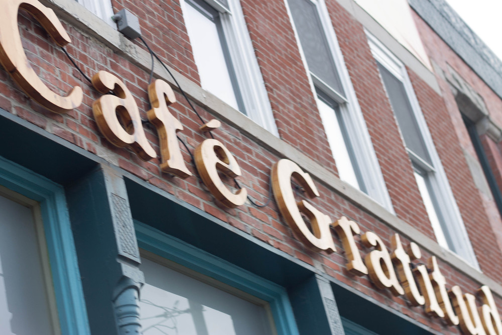 Cafe Gratitude on Southwest Boulevard