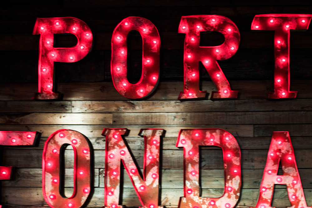 Port Fonda Sign