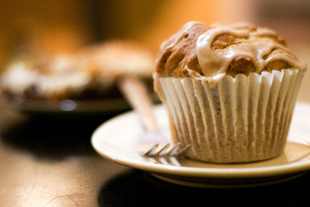 Peary Ginger Muffin at Mud Pie