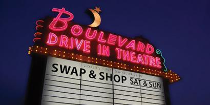 boulevard drive in date idea