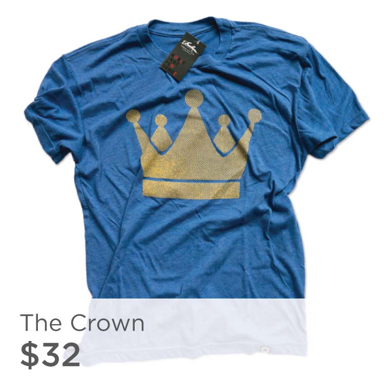 Royal Blue Crown Shirt