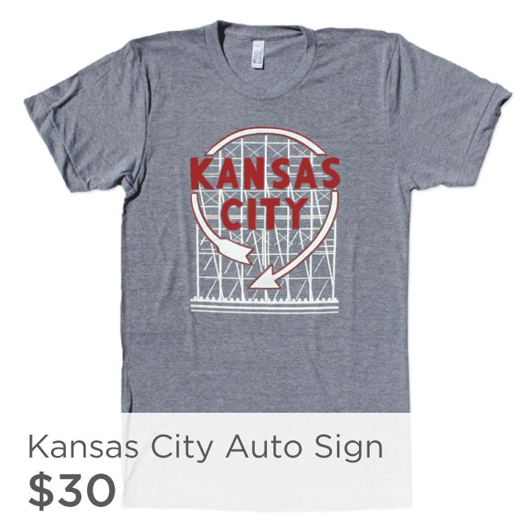 Kansas City Auto Sign Shirt