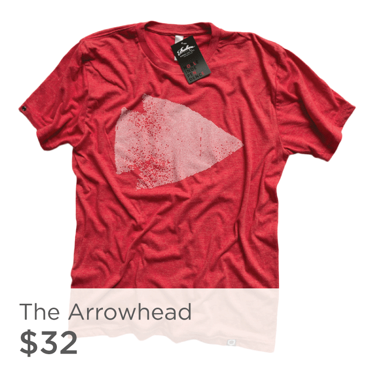 Red Arrowhead Shirt