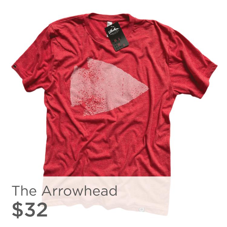 Red Arrowhead Shirt